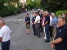 Polaganje venca Toniju Mrlaku s strani Društva pilotov vseh generacij